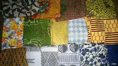 Newly designed original fashions for girls are stacked and ready for distribution in poor sections of Greater Accra and the rural north. (Photo by iHAVE)