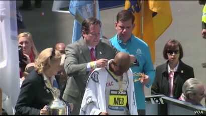 Keflezighi won the Boston Marathon the year after terrorists bombed the event in 2013, he won New York (Marathon 2009), the Boston (Marathon 2014).