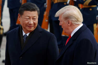 At the upcoming G-20 talks, President Xi Jinping, left,  and President Donald Trump will try to get trade talks back on track after eleven rounds of meetings  have failed.