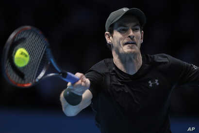 Britian's Andy Murray, who finished the season as the world's top player, is a tennis star, a sport reportedly among the best odds of staving off heart disease or stroke,