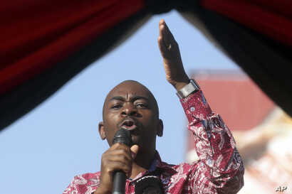 Nelson Chamisa Zimbabwe Opposition Leader At 19th Anniversary