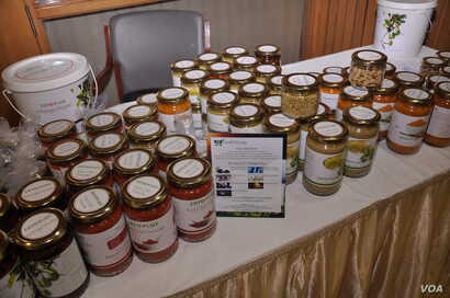The online food venture by a low caste entrepreneur offers a range of packaged products such as spices and pickles. (Courtesy photo from Dalit Foods)