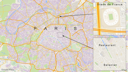 Terror attacks in Paris
