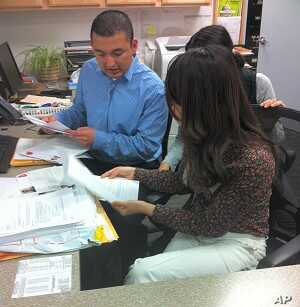 Inlingua staff prepares for end of 2011 academic year