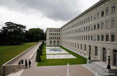 The United States will use the World Trade Organization in Geneva, Switzerland, to settle a dispute with China over Chinese tariffs on the 11 key raw materials.