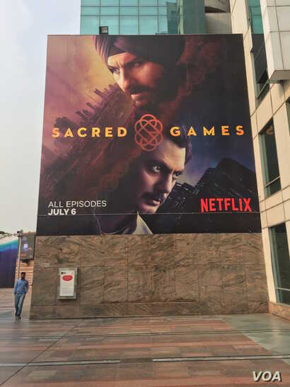 """Sacred Games,"" a thriller about the Mumbai underworld, was released in a blaze of publicity by Netflix last month."