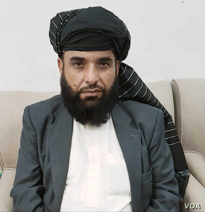 Suhail Shaheen, spokesman for the Taliban's political office in Doha, Qatar.