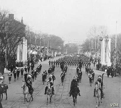 Geronimo was among five chiefs invited to ride in President Theodore Roosevelt's 1905 inaugural parade.