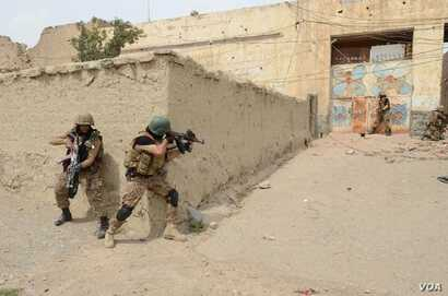 In undated photos, Pakistani troops have raided and searched suspected militant places in North Waziristan during Zarb-e-Azb counter-militancy operations.