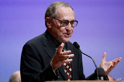 FILE - Lawyer Alan Dershowitz says he thinks State's Attorney Marilyn Mosby seemingly overcharged the Baltimore officers in the Freddie Gray case in the hope of ending the riots.