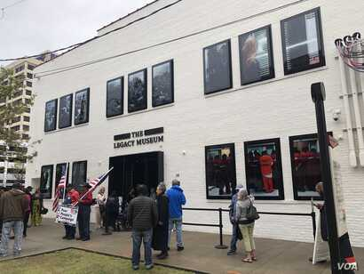 The Legacy Museum: From Enslavement to Mass Incarceration opened April 26, 2018, in Montgomery, Alabama, is filled with visual exhibits to help visitors understand what many blacks in the United States have historically endured.