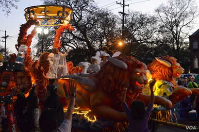 """New Orleans, nicknamed the """"Big Easy,"""" is known for its vibrant music scene and festive street life, especially during Mardi Gras, its annual winter carnival."""