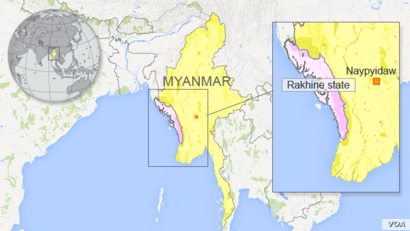 DO NOT USE: Myanmar with Rakhine state
