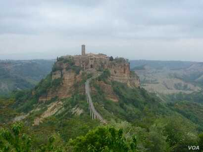 The hilltop Civita di Bagnoregio, in Italy's mountainous Lazio region, is enjoying a surprise tourist boomlet. The neighboring village of Celleno looks to it for inspiration.