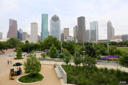Harris County, Texas — which includes the Houston metropolitan area — had the largest numeric increase in Hispanic and Black or African-American populations in the country since 2015, according to recently released U.S. Census data. (R. Taylor/VO...