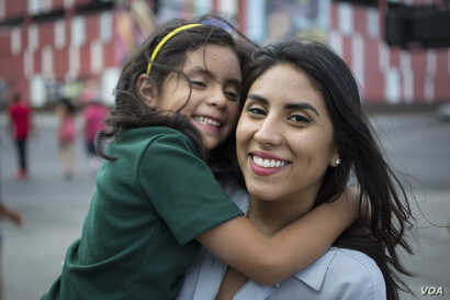 26-year-old Argelia Rico, shown here with her daughter Lily, is one of 13,000 DACA recipients in Nevada.