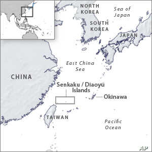 Japanese Lawmakers Visit Island Also Claimed by China