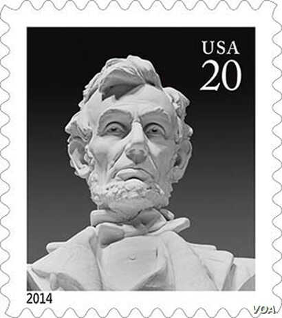 Carol Highsmith's photo of President Lincoln's face appears on a US postage stamp