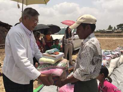 Htin Kyaw is a long-time and trusted aide of Aung San Suu Kyi.