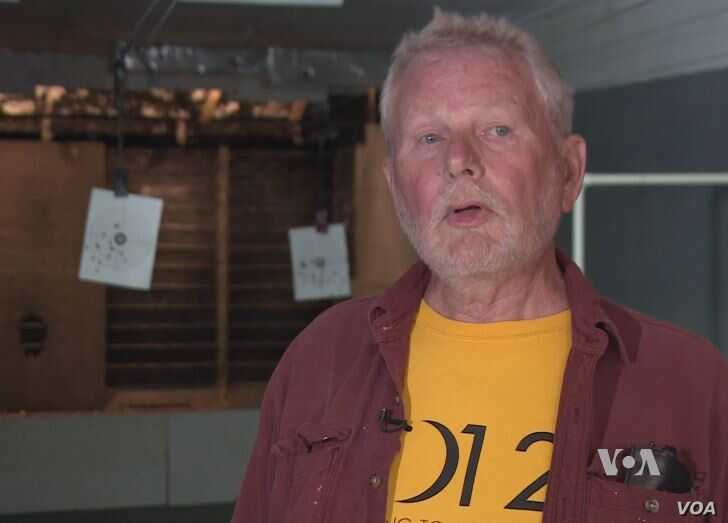 Hank Snowman, a lifelong hunter who has lived in the area for 22 years, says he has no problem with the private sale background check part of the law, but has concerns with a part that says only immediate family members are allowed to borrow guns wit...