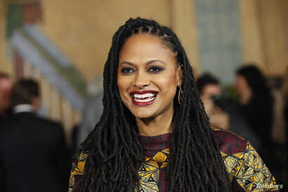 """Director and executive producer Ava DuVernay poses at a screening of the film """"Selma"""" during AFI Fest 2014 in Hollywood, California, Nov. 11, 2014."""