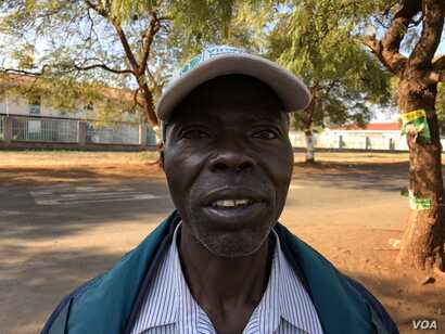 Everson Chimungungu  from from Epworth just outside Harare says during Mugabe's time Zimbabweans had become slaves and says it is still very painful to him.