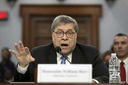 In his first appearance on Capitol Hill since taking office, and amid intense speculation over his review of special counsel Robert Mueller's Russia report, Attorney General William Barr appears before a House Appropriations subcommittee to make his ...