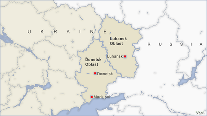 Donetsk and Luhansk