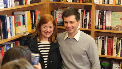 Thirty-seven-year-old Mayor Pete Buttigieg of South Bend, Indiana, would be the youngest American president in history if elected.