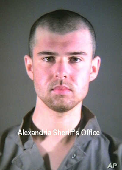 FILE - John Walker Lindh is seen in this Jan. 2002 photo provided by the Alexandria Sheriff's Office in Alexandria, Va.