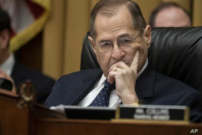House Judiciary Committee Chair Jerrold Nadler, D-N.Y., moves ahead with a vote to hold Attorney General William Barr in contempt of Congress after last-minute negotiations stalled with the Justice Department over access to the full, unredacted versi...