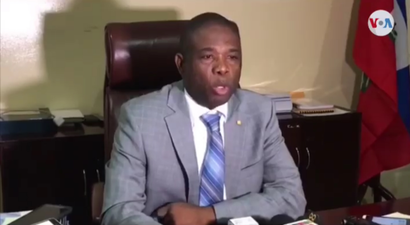 Senator Carl Murat Cantave, President of the Haitian Senate