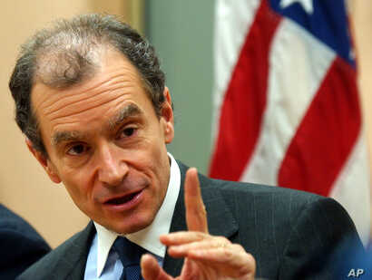 FILE - Daniel Fried, then a U.S. assistant secretary of state, is pictured in Warsaw, Poland, March 21, 2007.