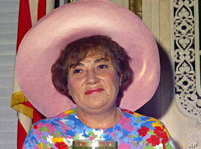 U.S. Rep. Bella Abzug (D-N.Y.) is shown in 1971, wearing one of her trademark hats.