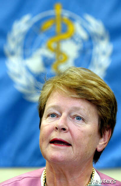 Gro Harlem Brundtland is a former prime minister of Norway and a former head of the World Health Organization.