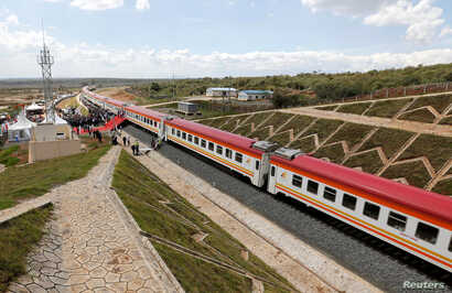 Image result for Kenya Opens Second Phase of Massive Railway Project, pictures