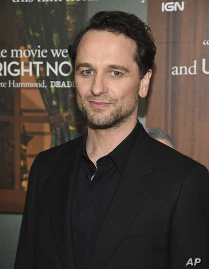 Actor Matthew Rhys attends a special screening of