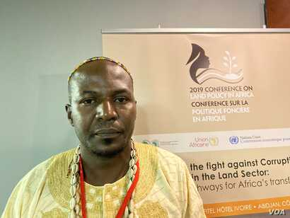 Drani Stephen, a traditional leader in the northern part of Uganda, says the problem of land corruption in his country is sometimes caused by conflicts in other countries, resulting in refugees illegally seeking land.