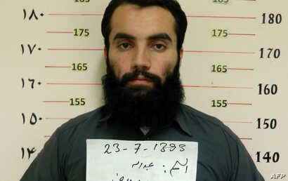 Taliban prisoner Anas Haqqani, a senior leader of the Haqqani network