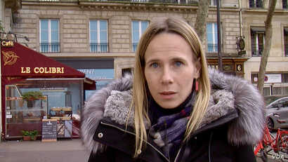 Parisian businesswoman Meriela Masson says she hasn't had time to think of Brexit. (Lisa Bryant/VOA) Jan 2020