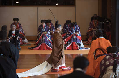 Japan's Emperor Naruhito, enthronement ceremony