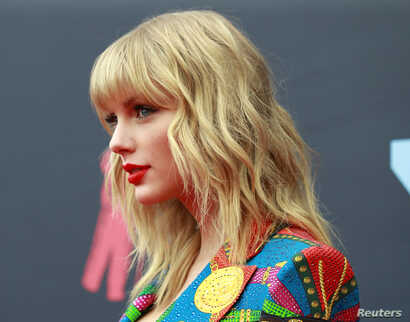 2019 MTV Video Music Awards - Arrivals - Prudential Center, Newark, New Jersey, U.S., August 26, 2019 - Taylor Swift. REUTERS…
