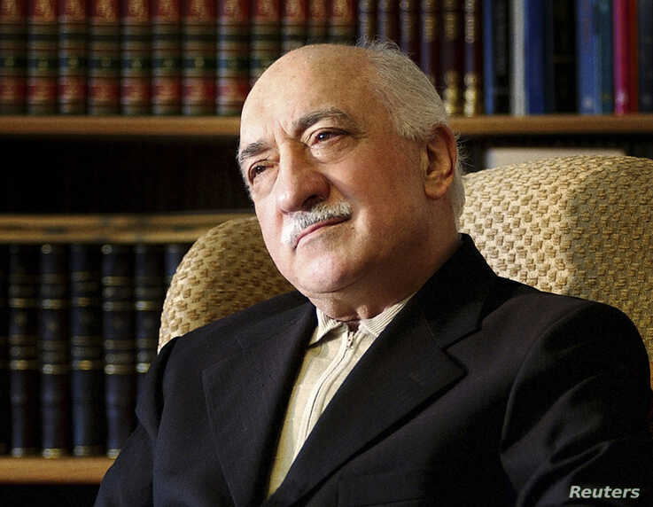 Islamic preacher Fethullah Gulen is pictured at his residence in Saylorsburg, Pennsylvania in this December 28, 2004 file photo.