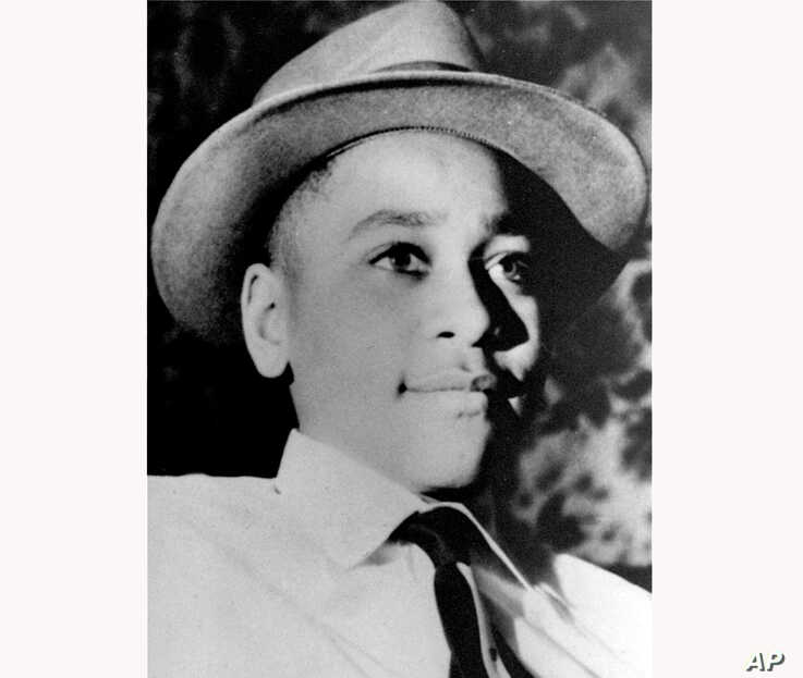 FILE - This undated photo shows Emmett Louis Till, a 14-year-old black Chicago boy, who was kidnapped, tortured and murdered in 1955 after he allegedly whistled at a white woman in Mississippi.