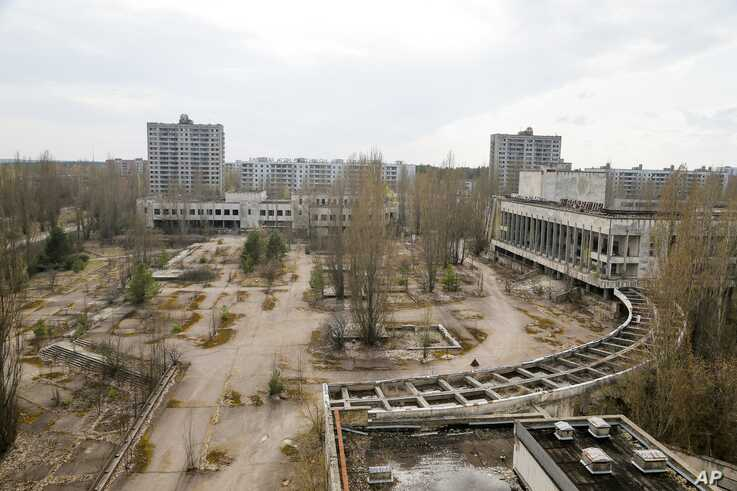 Chernnobyl nuclear power plant aftermath