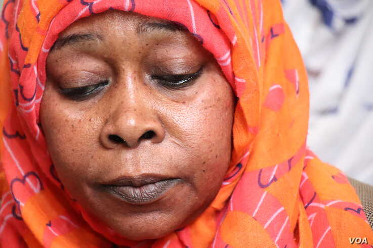 Nafisa watched her husband and two sons burn to death in Darfur, Sudan in 2003.