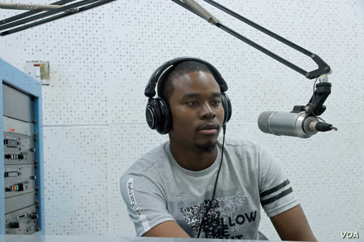 Yusufu Daisa, presenter at Radio Islam which is pushing for exclusion from the suspension.