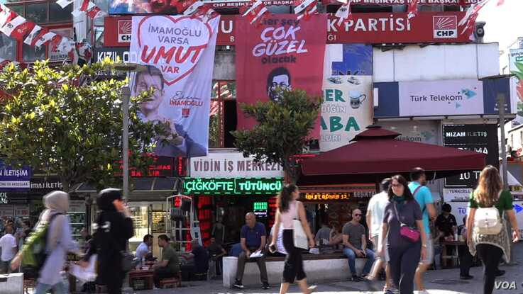 Istanbul's Besiktas district is an opposition stronghold,  where 83% voted for Ekrem Imamoglu.
