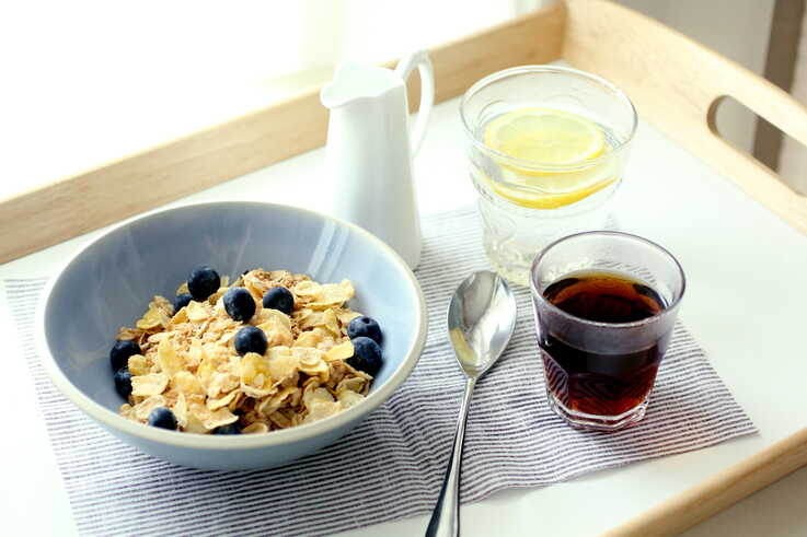 Originally invented to cure health problems, cereal eventually became a staple on American breakfast tables due to its convenience as well as intense marketing efforts by cereal makers. (Photo courtesy Flickr user with wind via Creative Commons license)