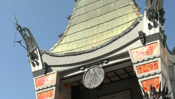 The Grauman's Chinese Theatre opened its doors on 1927 in Hollywood. It has also been named Mann's Chinese Theatre and in 2013,